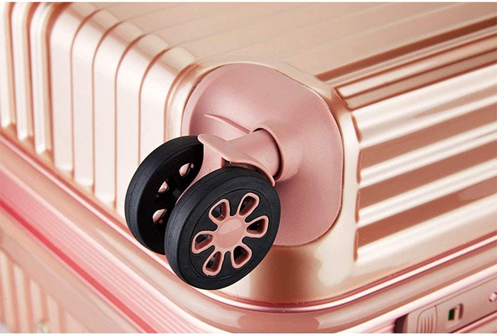 New Combination Lock Aluminum Alloy Lever Aluminum Frame Suitcase Z-Trolley case Mesurn Business Suitcase 360 Degree Smooth Rotating Universal Wheel
