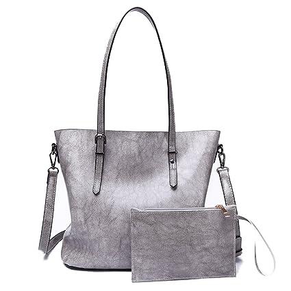 Fourre-tout Bourgogne sac a main Veritable cuir PU de Sacs a bandouliere Sac de poignée sac à provisions uLs9RS