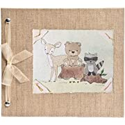 Hugs and Kisses XO Forest Friends Baby Memory Book from Birth to 5 Years
