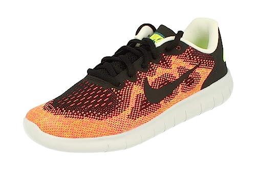 c5a23a9c8f Nike Men's Free RN 2017 Running Shoes, Orange (Schwarz 003), 6 UK ...
