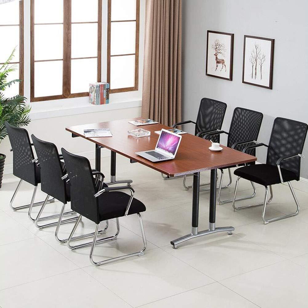 Kontorsstol DALL Mesh skrivbordsstol Rosettformad dator stol personalstol andningsbar slitstark, 6 färger (färg: svart) Svart