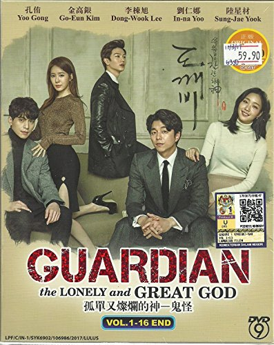 (GOBLIN) GUARDIAN : THE LONELY AND GREAT GOD - COMPLETE KOREAN TV SERIES ( 1-16 EPISODES ) DVD BOX SETS by