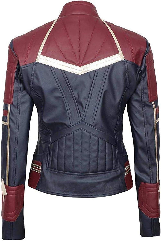 EU Fashions Supergirl Carol Danvers Stylish Jacket New Design 2019 - Faux Leather Jacket