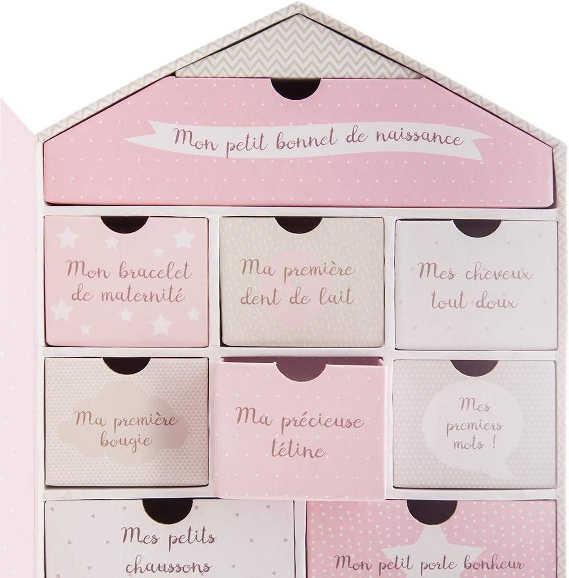 Atmosphera Coffret de Naissance Maison 20,8x30,5