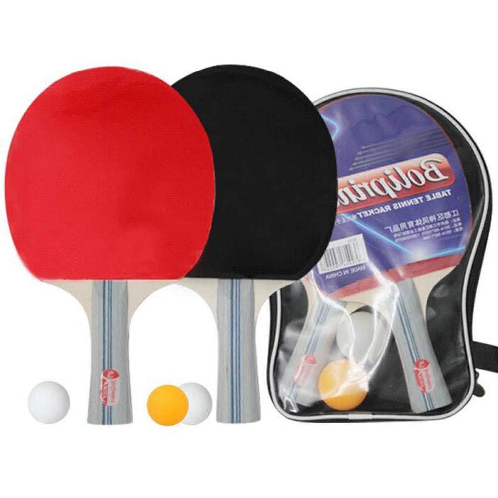 KUANDARPP Raqueta De Tenis De Mesa Ping Pong Alta Elasticidad ...