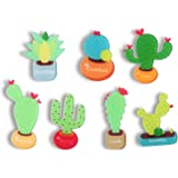 Refrigerator Magnet Fridge Magnet Kitchen Magnets Fun Magnets Decorative Magnets Cute Magnets (Succulent Cactus)