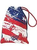 Simone Biles Firecracker Patriotic Design Grip Bag - Red, White & Blue