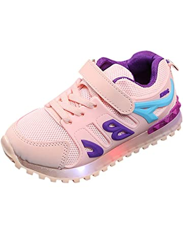 ZODOF Niño pequeño Bebé Niños Niñas Niños Zapatillas de Deporte Casuales Malla Zapatillas de Deporte Zapatos