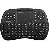 Leelbox Tastiera 2.4GHz Wireless Keyboard con Touchpad Mini Tastiera per Android TV Box Smart TV del Android Mini PC PlayStationetc (Design Italiano)