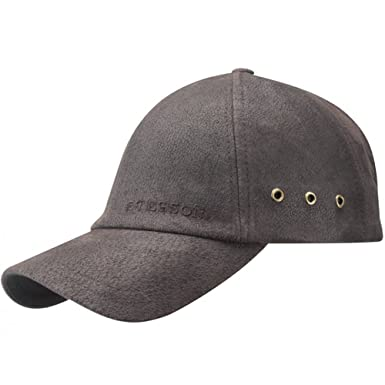 Image Unavailable. Image not available for. Color  Stetson Liberty  Distressed Leather Baseball Cap 2d0dcc9c99fd