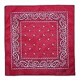 CTM® Unisex Cotton Paisley All-Purpose Bandana