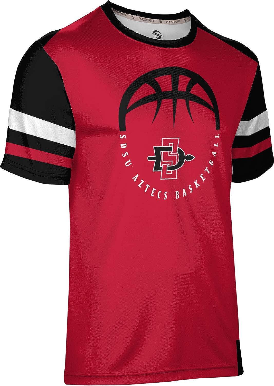 Old School San Diego State University Basketball Boys Performance T-Shirt