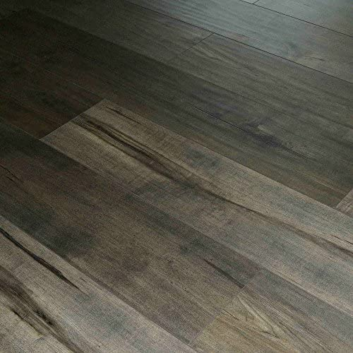 Dekorman 1551c 1151c Roasted Brown Birch 12mm Thick X 7 72in Wide X 48in Length Click Locking Laminate Flooring 17 9432 Sqft Case Gray Amazon Com