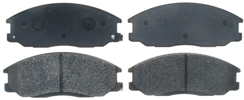 ACDelco 17D864AM Professional Semi-Metallic Front Disc Brake Pad Set