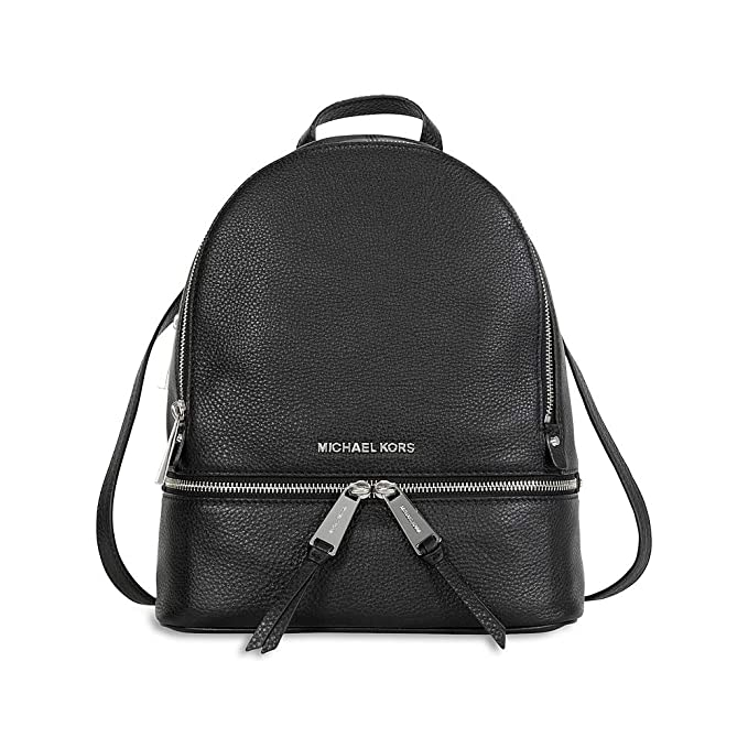 ZAINO RHEA ZIP MEDIUM BACK PACK BLACK NERO MICHAEL KORS  Amazon.it   Abbigliamento 3c3307d8560