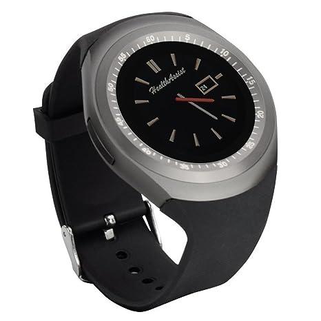 Yobeso Y1 Smart Watch Bluetooth SmartWatch con pantalla táctil Sports Fitness reloj de pulsera con tarjeta SIM y Cámara Ranura para tarjeta TF Mensaje de ...