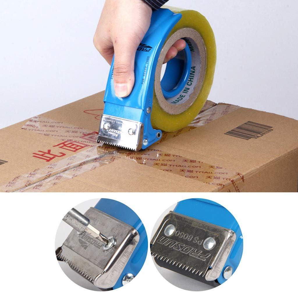 WuLi77 Verpackungsbandabroller manuelles Versiegelungsger/ät Baler Kartonversiegelung Breite 48 mm