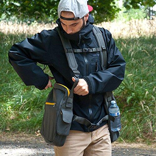 BackTpack 4 Ergonomic Backpack, School Bag, Laptop Case, Violet/Mango