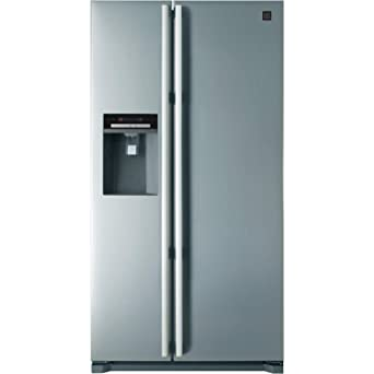 Daewoo FRAX22D3S Side-by-side American Fridge Freezer With Ice And