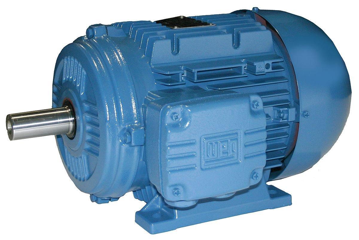 WEG 00218ET3WAL100L TEFC Multi-Mounting Aluminum Frame IE3 IEC Tru-Metric Electric Motor, 3 HP, 3-Phase, 1740 RPM, 60 Hz, 460 V, 50/60 Hz, Frame 100L