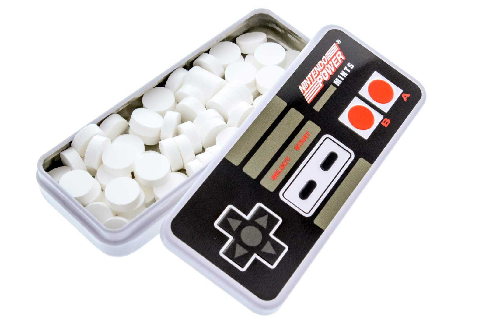 Nintendo Controller Mints - Vintage Nintendo Power Controller Tin - Includes ''How To Build a Candy Buffet'' Guide (18 Pack Display) by Candy Envy