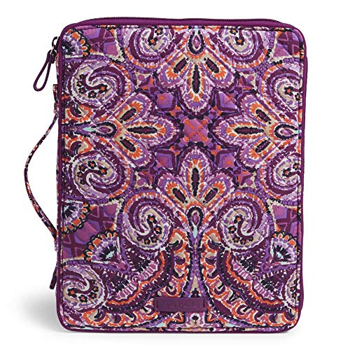 Vera Bradley Iconic Tablet Tamer Organizer, Signature Cotton, dream tapestry