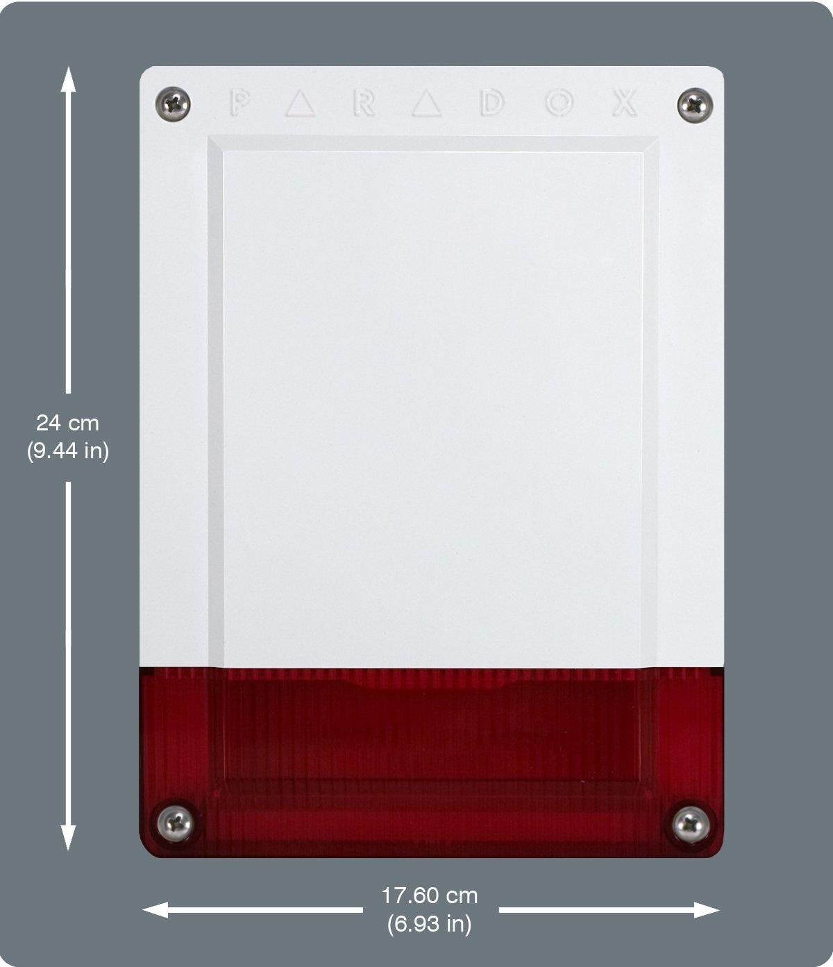 PXMXSR150 PARADOX alarma antirrobo SR150/86 sirena exterior ...