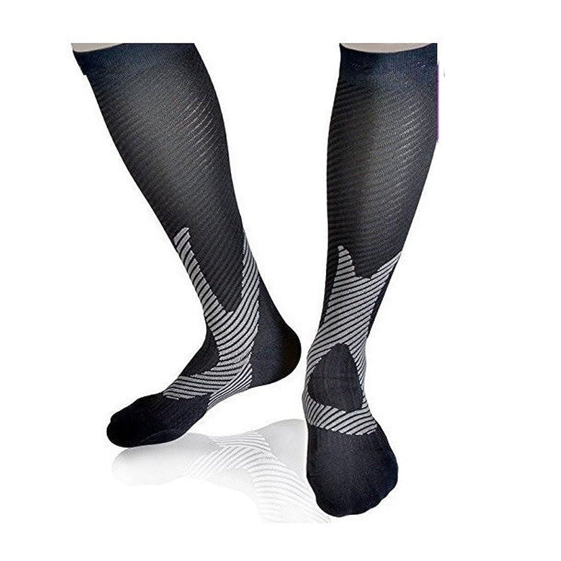 11338cc2c77 Compression Socks for Women Men Running Athletic Sports Crossfit Flight  Travel  Amazon.co.uk  Sports   Outdoors