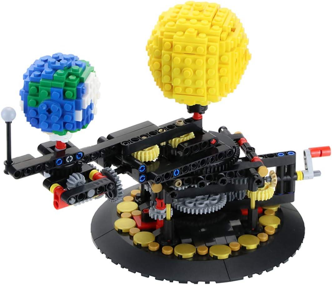 Lego type Orrery