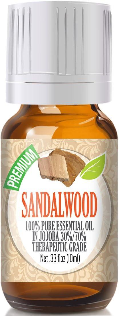 Sandalwood Essential Oil - 100% Pure Therapeutic Grade Sandalwood Oil - 10ml