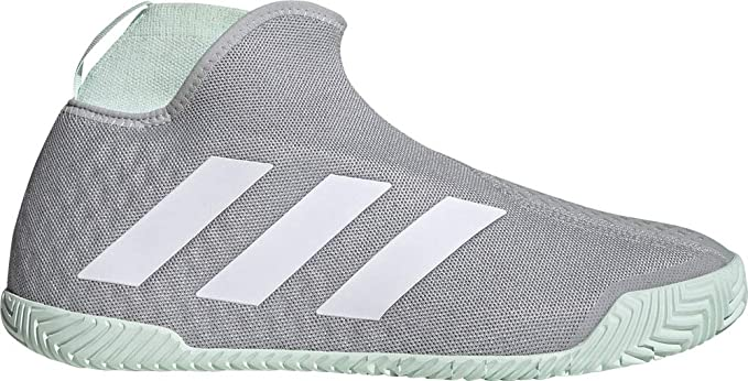 adidas STYCON Laceless Hard Court Gris Aguamarina EG2211: Amazon ...