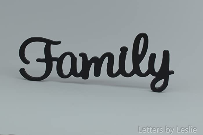 Family Wooden Wall Sign, Family Wall Decor. Family Wall Letters. Wooden Wall  Sign