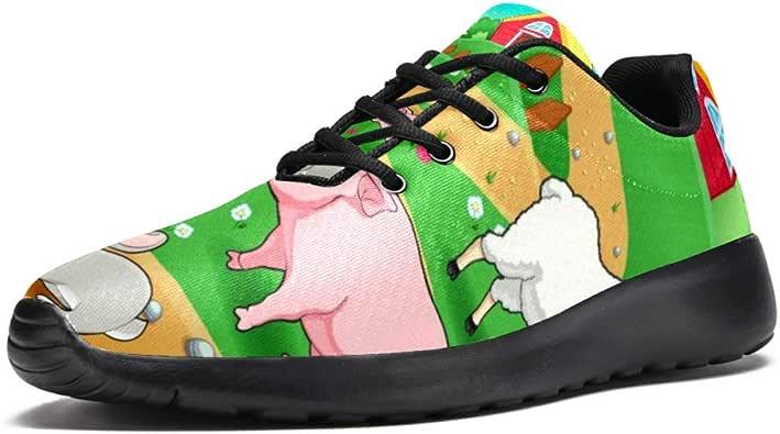 LORVIES - Zapatillas de deporte para hombre, diseño de