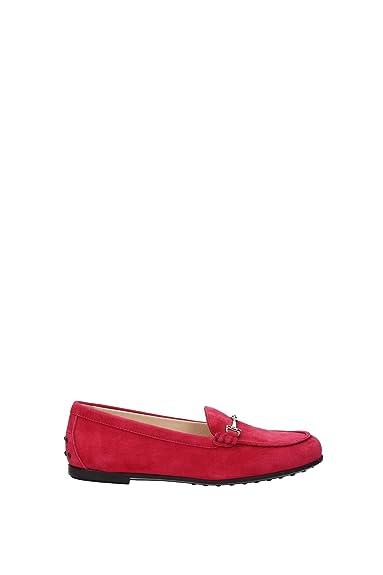 Tod s , Mocassins pour Femme Rose Rose  Amazon.fr  Chaussures et Sacs 94339562121a