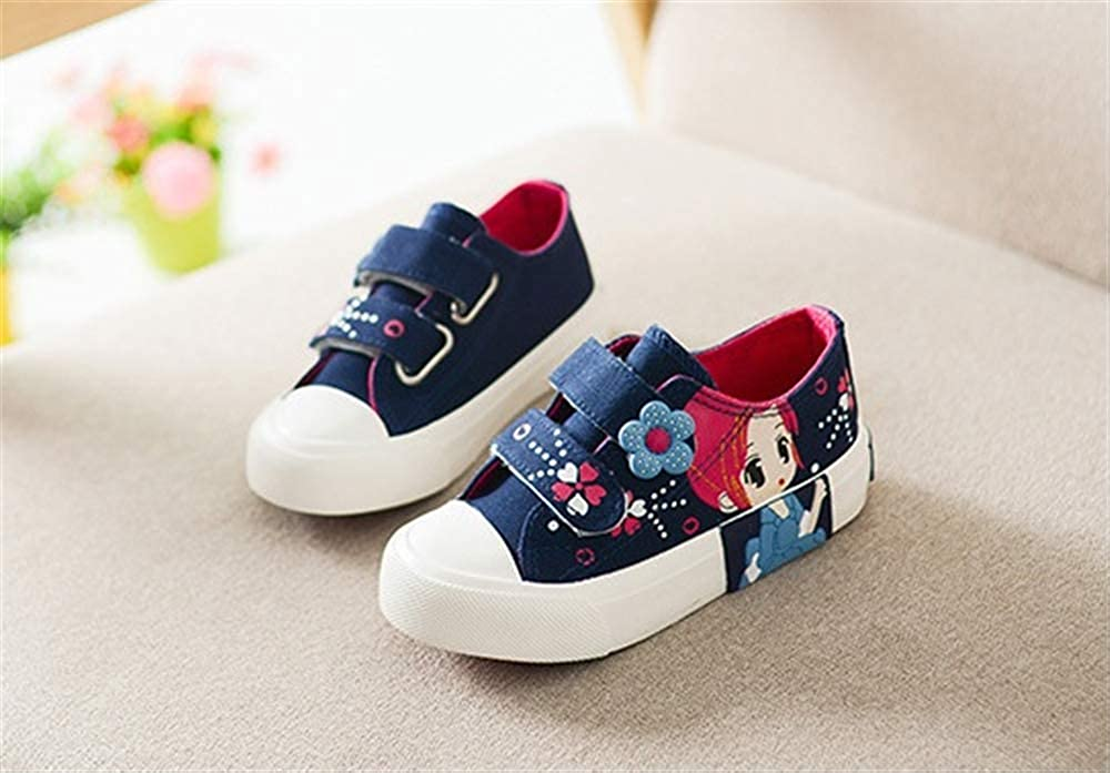 cici shoes Kids Toddler Girls Jeweled Toe Pink Floral Canvas Sneakers with Lace