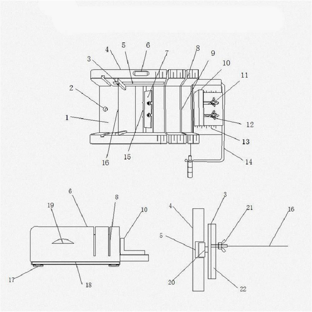 LaceDaisy Multi-Fonction Coupe-Savon R/églable en Bois avec Fil A Couper Outil De D/écoupe en Acier Inoxydable