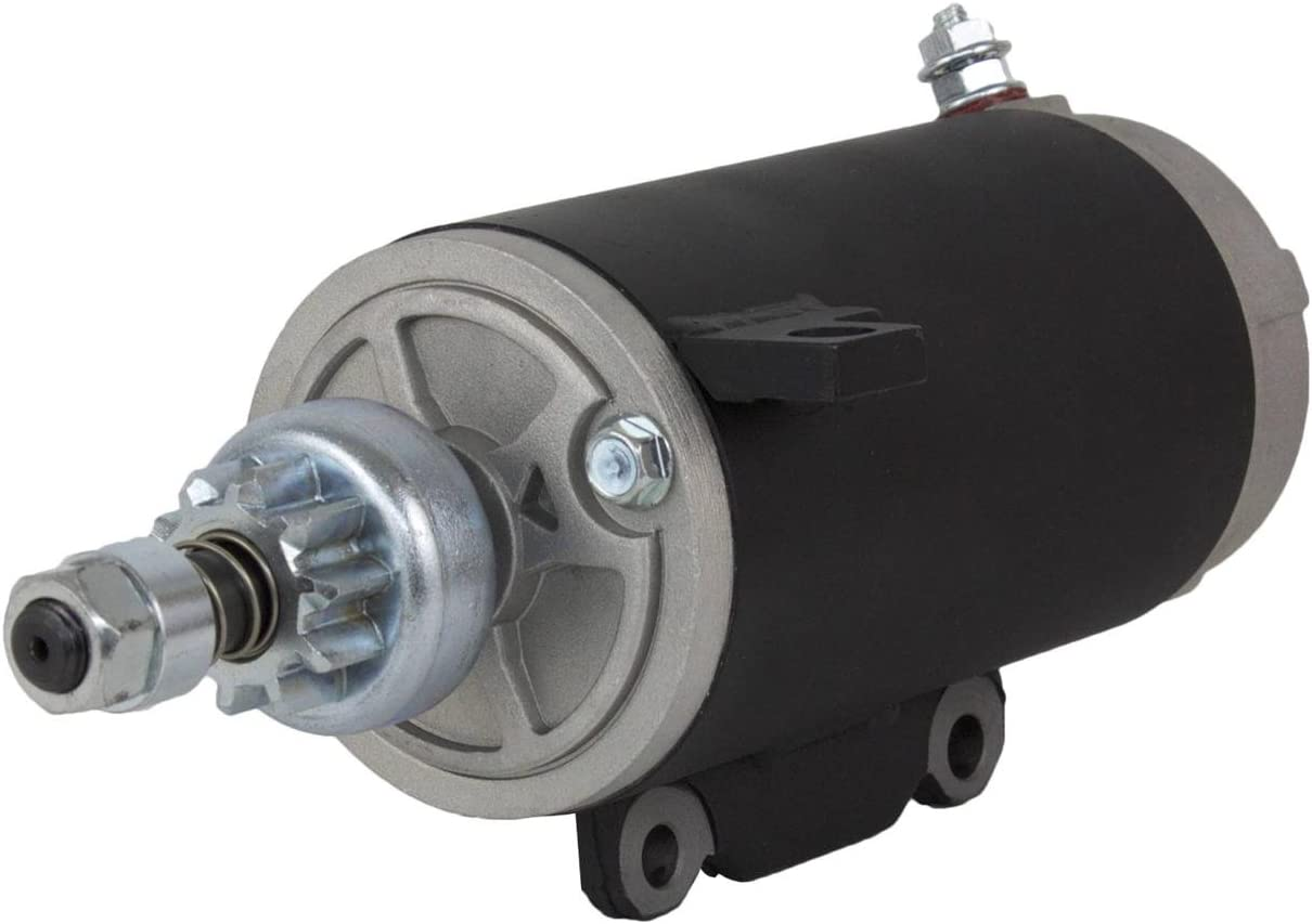 Rareelectrical NEW STARTER MOTOR COMPATIBLE WITH 73-95 EVINRUDE MARINE OUTBOARD 115 115HP 385529