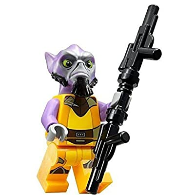 LEGO Star Wars Rebels Minifigure - Zeb Orrelios (75053): Toys & Games