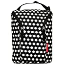 Skip Hop Grab and Go Double Bottle Bag, Black/White