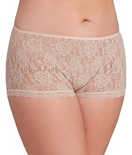 ff9d59e6d4e Hanky Panky Women s Signature Lace Boy Shorts at Amazon Women s ...