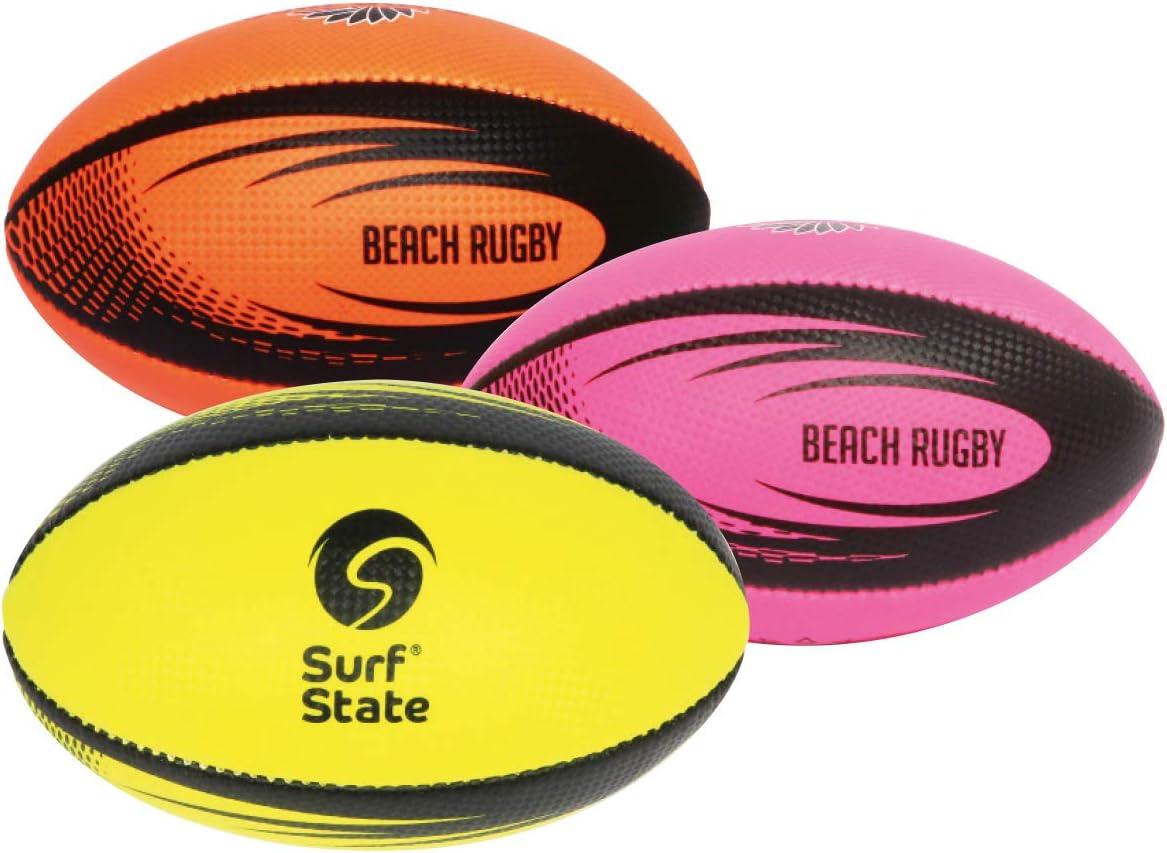 Surf State Mini Pelota de Rugby de Tacto Suave, desinflada o ...