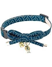 Necoichi Zen Fish Charm Cat Collar
