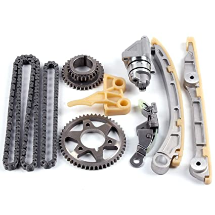 Amazon.com: OCPTY Timing Chain Kit Tensioner Guide Rail Oil Pump Chain fits for 2000 2001 2002 2003 Honda S2000 2.0L 1997CC l4 GAS DOHC Naturally Aspirated: ...