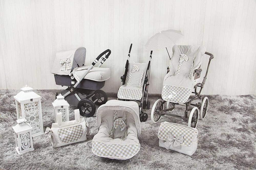 Colchoneta para silla de paseo color beige Babyline Summer
