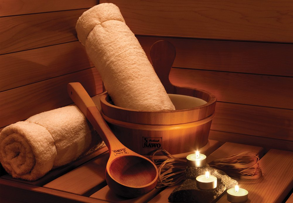 52cm ou 68cm SAWO Sauna Louche en bois; Tilleul ou C/èdre; 41cm