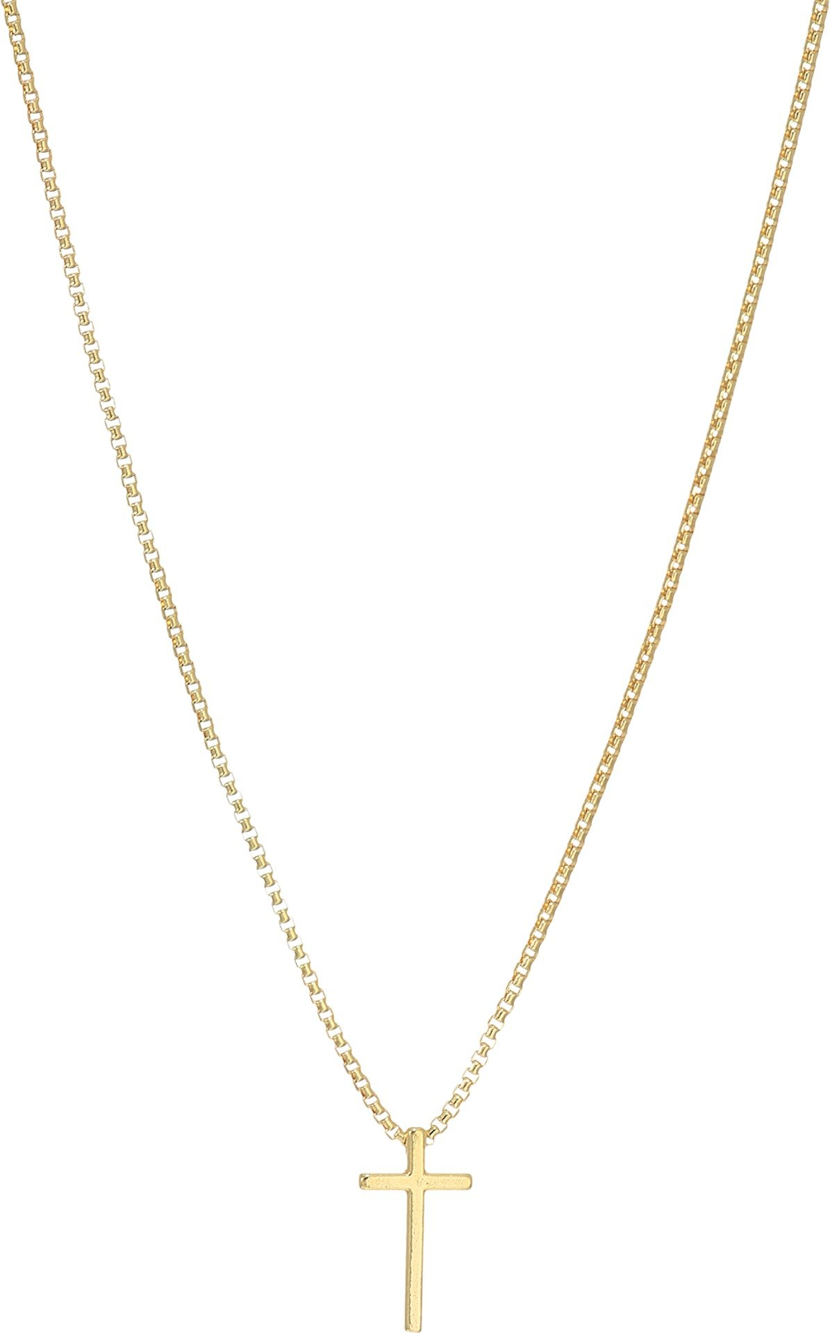 Alex and Ani Women's Cross 18'' Adjustable Necklace 14kt Gold Plated One Size