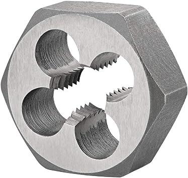 M2 x 0.4 HSS Hexagon Die Nut Metric Course. Threading/Hex Shank Hexagonal  (M2 x 0.4 (2mm)): Amazon.co.uk: DIY & Tools