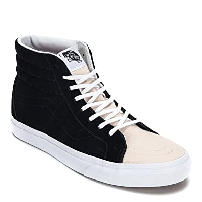 907e8071d503 Amazon.com   Vans SK8-Hi Reissue Sneakers VN0A2XSBOK2, Birch Black ...