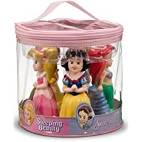 Disney Parks Princess Squeeze Toys Set Including Ariel Belle Aurora Cinderella and Snow White