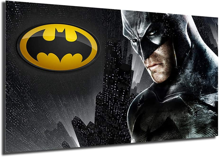 Superhero Movie Batman Poster Painting Print On Canvas Living Room Modern Wall Art Decoration Pictures Home Decor (No Framed,16x28inch)
